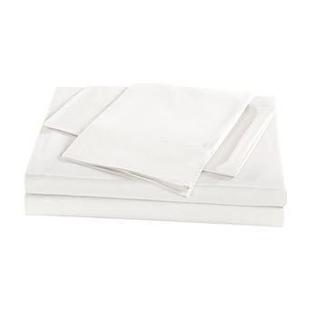 Royal Comfort 1000TC Bamboo Queen Sheet Set White