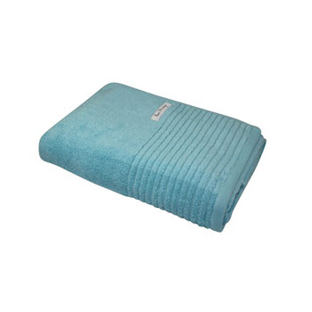 Bas Phillips Hayman Zero Twist 600GSM Bath Sheet Ocean