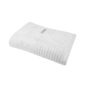 Bas Phillips Hayman Zero Twist 600GSM Bath Towel White