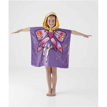 Kommotion Kids Fairy Beach Poncho