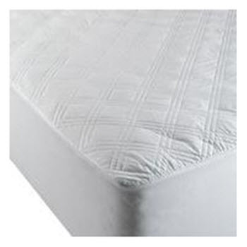 Odyssey Living Diamond Double Cotton Mattress Protector