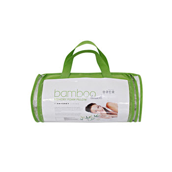 Odyssey Living Crumbed Bamboo Memory Foam Pillow