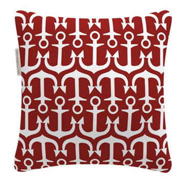 Odyssey Living 45cm Outdoor Cushion Red