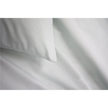 Odyssey Living Thermal Flannel Sheet Set Double Bed White