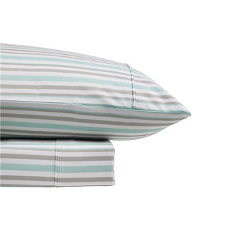 Odyssey Living King Single Thermal Flannel Sheet Set Ice