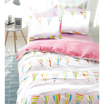 Odyssey Living California Dreaming Carnival Kids Single Quilt Cover Set