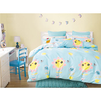 Odyssey Living California Dreaming Kids Harper Double Quilt Cover Set