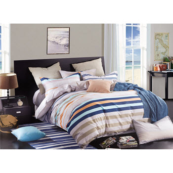 Odyssey Living California Dreaming Sunset King Quilt Cover Set