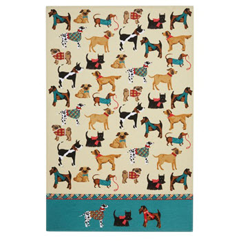 Ulster Weavers Hound Dog Cotton Tea Towel