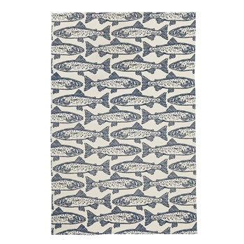 Ulster Weavers Cotton Workwear Salmon Tea Towel 74 x 48cm