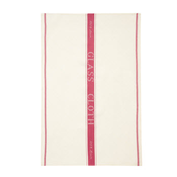Ulster Weavers Linen Glass Cloth Red