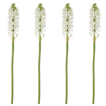Rogue Pineapple Lily Stem White Single Stem Faux Flower