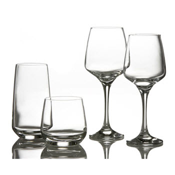 Style Setter Firenze Glass Starter Set 16 Piece