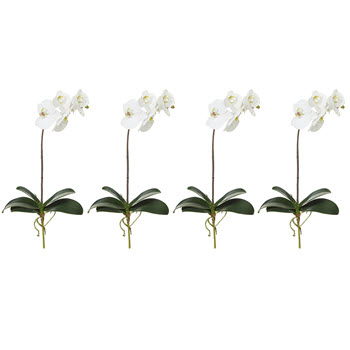 Rogue Deluxe Faux Orchid Stem Single Stem Faux Flower