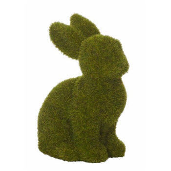 Rogue Easter Mopsy Moss Rabbit Sitting
