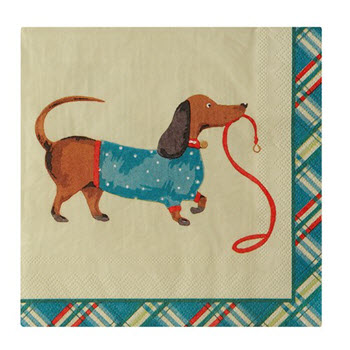 Ulster Weavers Hound Dog Pack of 20 Paper Napkins