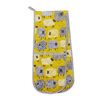 Ulster Weavers Dotty Sheep Double Oven Glove