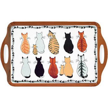 Ulster Weavers Cats in Waiting Large Tray