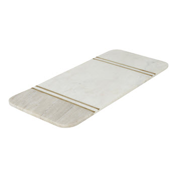 Amalfi Avery 45.5 x 20.5cm Marble Rectangular Serving Board