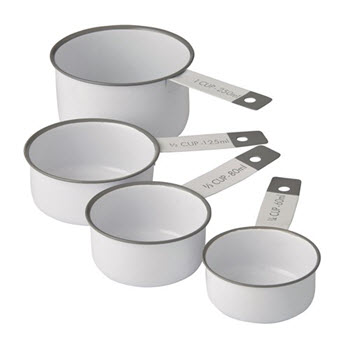 Academy Austen 4 Piece Measuring Cup Set