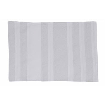 Davis & Waddell 33x48cm Twinkle Placemat White & Silver