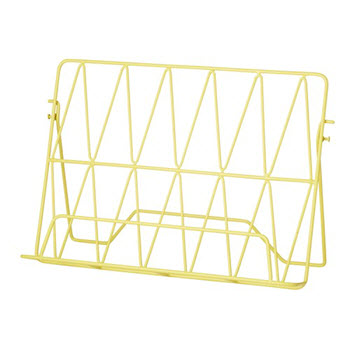 Davis & Waddell Stockholm Cookbook Stand Yellow