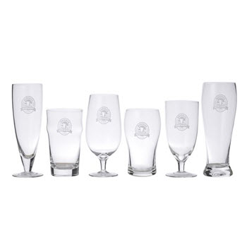 Davis & Waddell Maverick 6 Piece Beer Connoisseur Glass Set