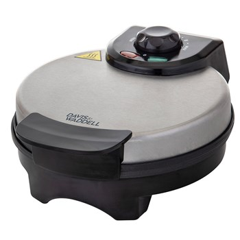 Davis & Waddell Stainless Steel & Aluminium Electric Non-Stick Waffle Maker