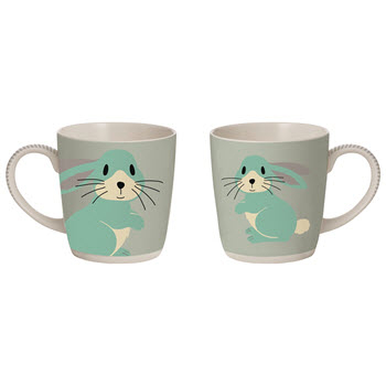 Davis & Waddell 300ml Critters Mug Easter Rabbit