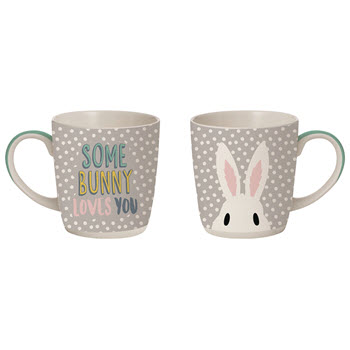 Davis & Waddell 300ml Some Bunny Loves You Mug