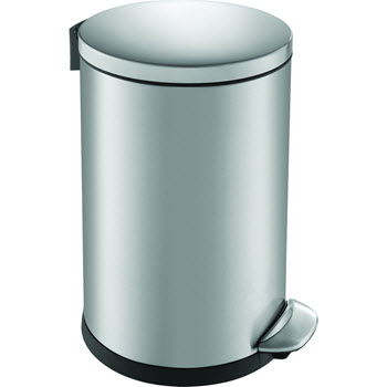 Eko Luna Step Can 20L Bin Stainless Steel