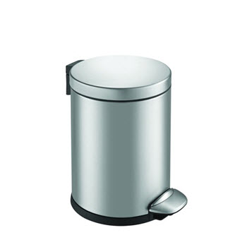 Eko Luna Step Can 3L Bin Stainless Steel