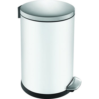 Eko Luna Step Can 20L Bin White