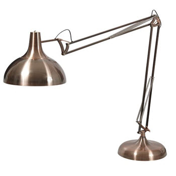 Amalfi Sly Floor Lamp Copper