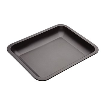 MasterPro Non-Stick Steel Roasting Pan 33 x 5 x 41cm Black