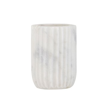 Amalfi Issey Marble Toothbrush Holder 10cm White