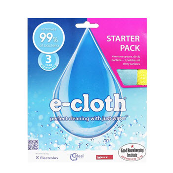 e-cloth Pack of 5 Starter Cleaning Cloth