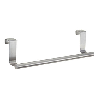 InterDesign Forma 23cm Over-the-Cabinet Towel Bar Stainless Steel