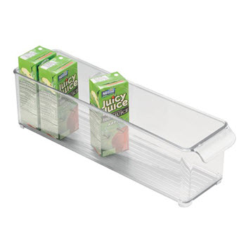 InterDesign 10cm Fridge Binz Fridge Organiser Deep Tray