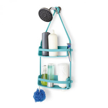 Umbra Flex Shower Caddy Blue