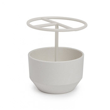 Umbra Fiboo Linen Toothbrush Holder