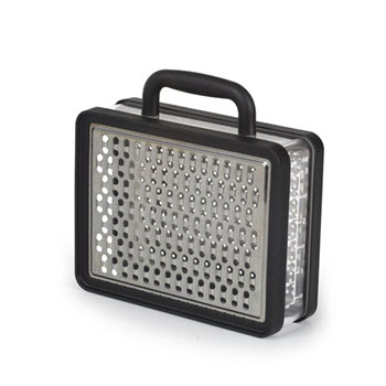 Umbra Black Briefcase Grater