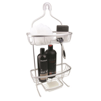 Urban Lines Cove Aluminium Caddy Silver