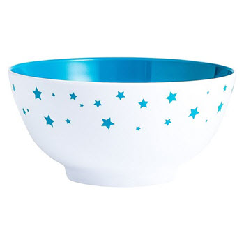 Barel Designs Cyan Star 15cm Melamine Bowls Set of 6