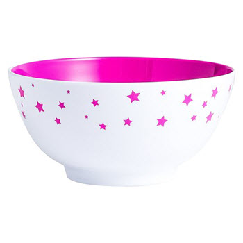 Barel Designs Magenta Star 15cm Melamine Bowls Set of 6