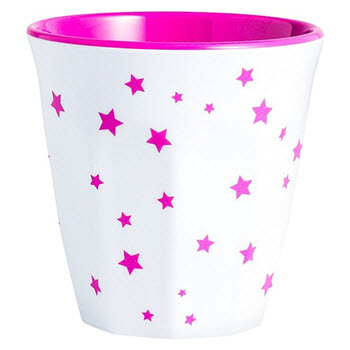 Barel Designs Magenta Star 260ml Melamine Tumblers Set of 6