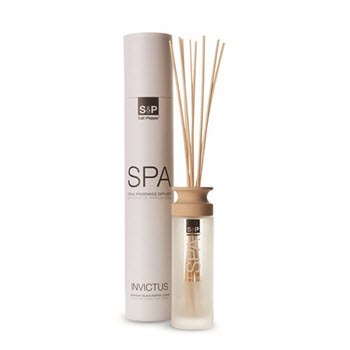 Salt & Pepper Spa Invictus 120ml Glass Diffuser