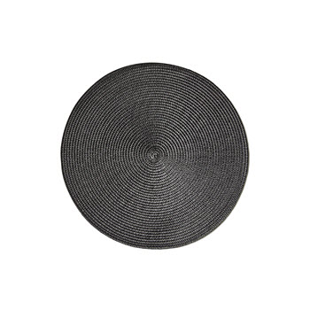 Salt & Pepper Paige Placemat Black