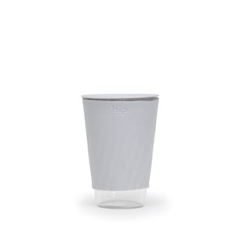 Hip Travel Cup Glass Cloud 355ml