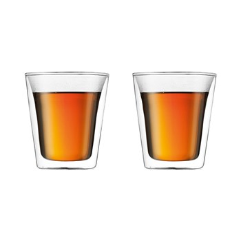 Bodum Canteen Double Wall Medium set of 2 200ml